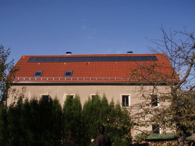Solarthermieanlage